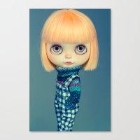 Titian blythe doll Canvas Print