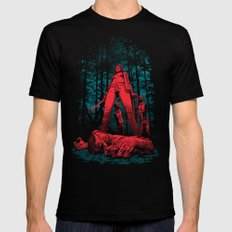 Huntress SMALL Black Mens Fitted Tee