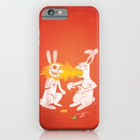 Fire Bunny iPhone 6 Slim Case