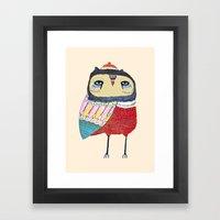Sweet Owl. Owl, Owl Art,… Framed Art Print