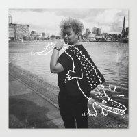 The Urban Crocodile Hunt… Canvas Print