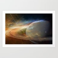 Art Print featuring Until The End Of Time by David Hughes