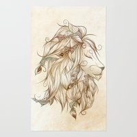 Poetic Lion  Rug