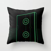 VHS NYC Throw Pillow