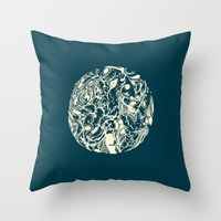 Soulmate Throw Pillow