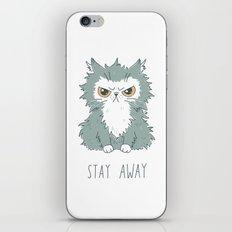 Stay Away iPhone & iPod Skin