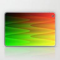 Colorful Waves Laptop & iPad Skin
