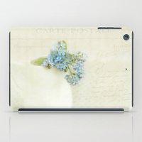 vintage greeting  iPad Case