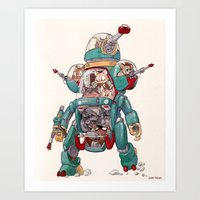 The Tactical Scout Walke… Art Print