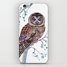 lacy owl iPhone & iPod Skin