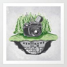 Behind The Scenes Art Print
