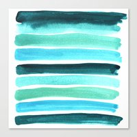 Beach colors Canvas Print