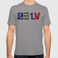 helvetica 2014 Mens Fitted Tee Athletic Grey SMALL