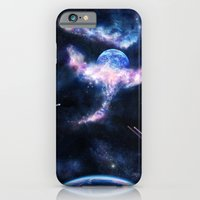 Space Scene Zero One iPhone 6 Slim Case