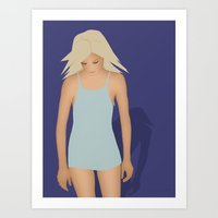 Blond Perfection Art Print