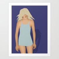Blond Perfection Art Print