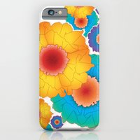 iPhone & iPod Case featuring paper flowers by eduardo vargas