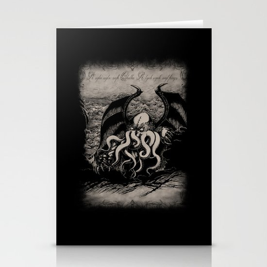 The Rise of Great Cthulhu Stationery Card