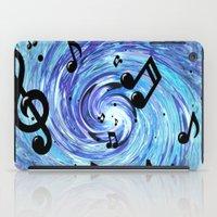Musical Blue iPad Case