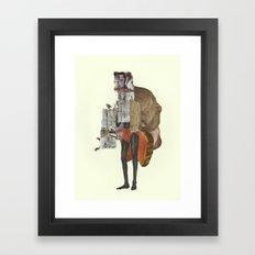 Mouth  Framed Art Print