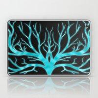 Ghostly Vines (Electric … Laptop & iPad Skin