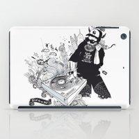 GOD IS A DJ iPad Case