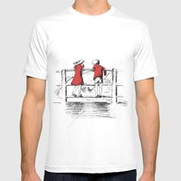 Friendship Mens Fitted Tee White SMALL