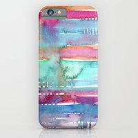 iPhone & iPod Case featuring Water Stripes by Nuez Rubí