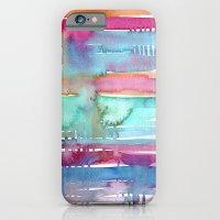 Water Stripes iPhone 6 Slim Case