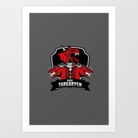 House Targaryen - GOT Art Print