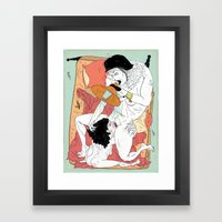 Sex Needs Framed Art Print