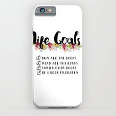 Bookworm Goals iPhone 6 Slim Case