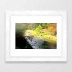 Autumn in the Otway Ranges Framed Art Print
