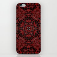 Regal Red iPhone & iPod Skin