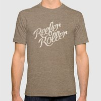 Reefer Roller Mens Fitted Tee Tri-Coffee SMALL