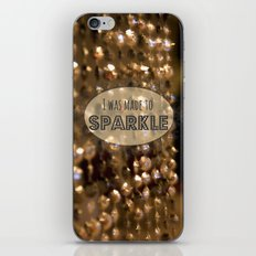 Made to Sparkle iPhone & iPod Skin
