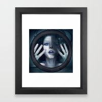 Untitled_oblò Framed Art Print