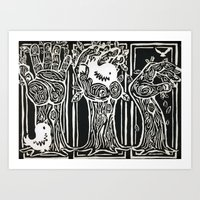 Nesting Ground Art Print