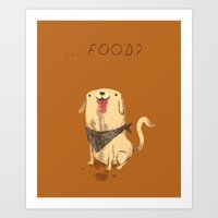 food Art Prints featuring food? by Louis Roskosch