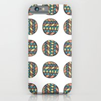 iPhone & iPod Case featuring circles by Kelly Tucker