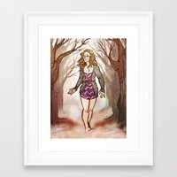 double double toil and trouble Framed Art Print