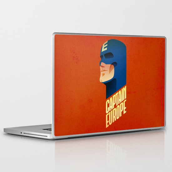 Captain Europe Laptop & iPad Skin