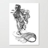 Symbiosis III  Canvas Print