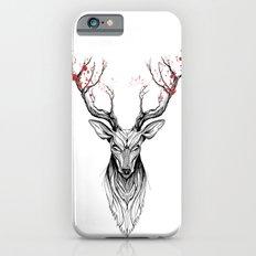 Deer Tree (black Stroke … iPhone 6 Slim Case