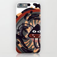 iPhone & iPod Case featuring Evil Mandala by Miki  Company