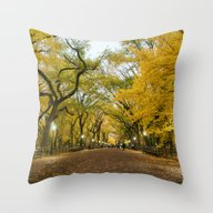 Central Park New York Ci… Throw Pillow