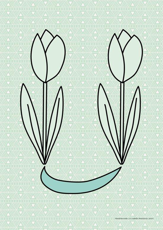 Tulips 03 Art Print