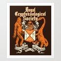 Royal Cryptozoological Society Art Print