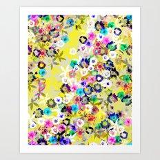 Floral Dreams Art Print
