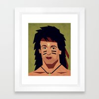 childhood Hero II Framed Art Print